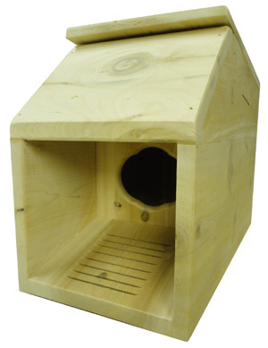 ground nesting box